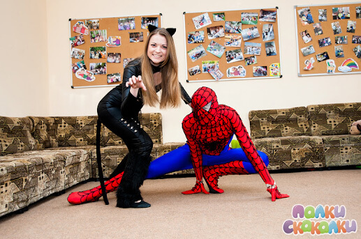 Spiderman Catwoman